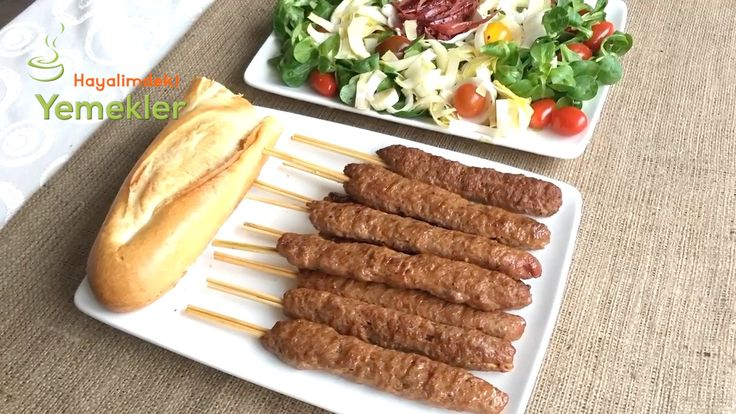 Kolay Şiş Kebab Tarifi/ Ev usulü Kolay Kebab Nasıl Yapılır | Resimli Yemek Tarifleri Hayalimdeki Yemekler
