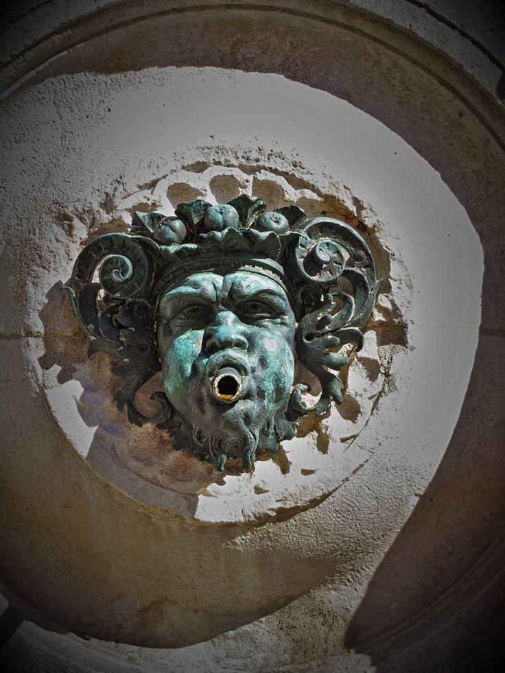 Ancona, Marche, Italy - Fountain of Calamus - mask -by Gianni Del Bufalo CC BY-NC-SA  by gianni del bufalo