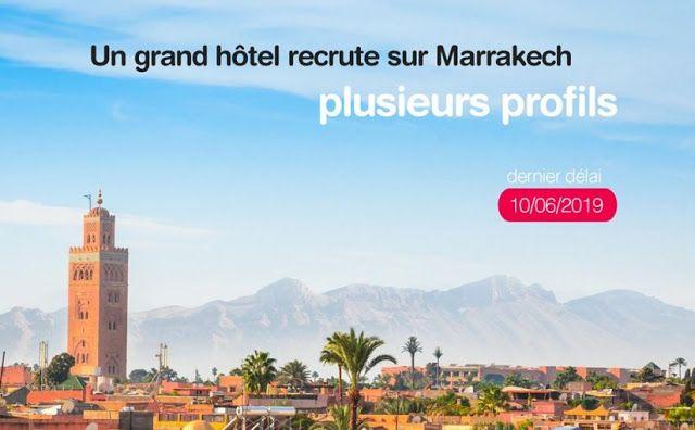 Anapec Recrute Plusieurs Profils Pour Un Grand Hotel Sur Marrakech Avec Images Marrakech Hotel De Luxe Hotel Marrakech