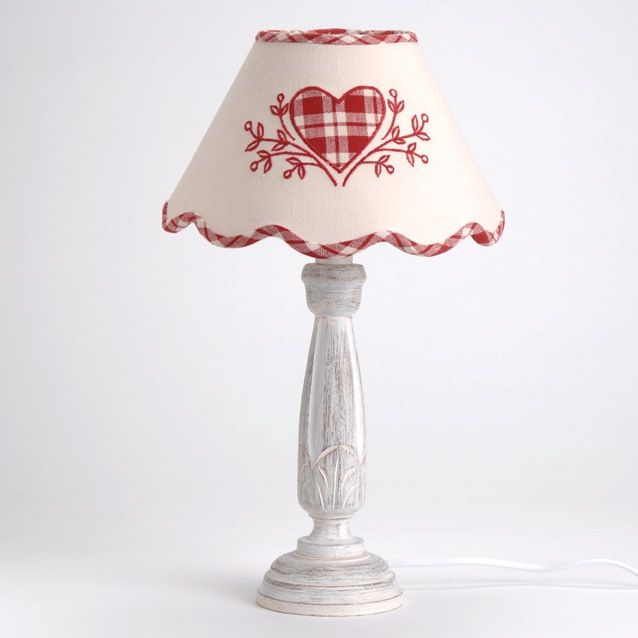Lampe chalet applique coeur amadeus decoration montagne for Lampe deco interieur