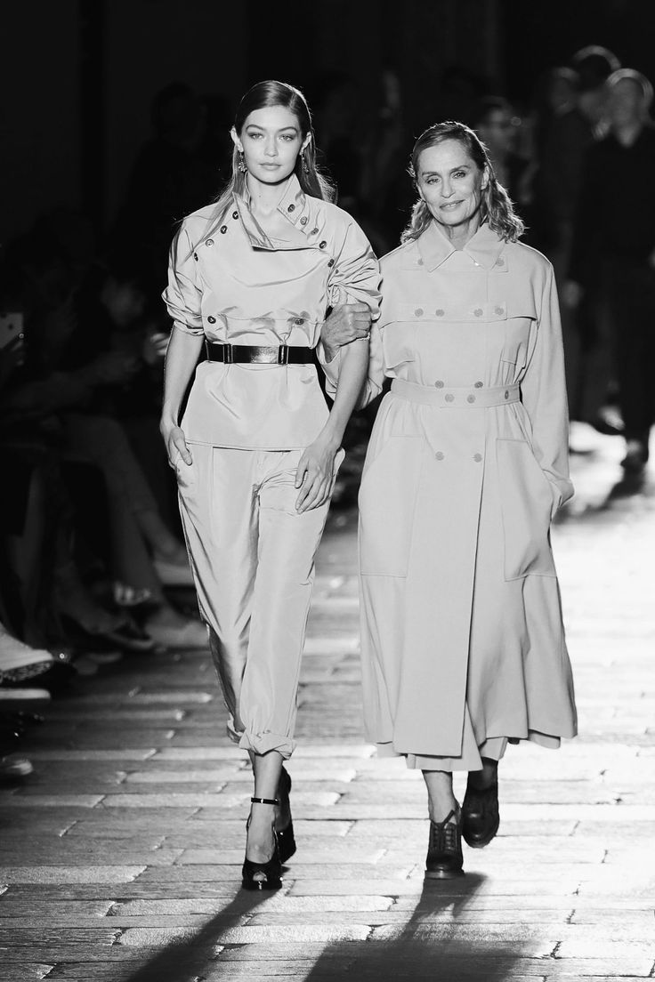 Lauren Hutton and Gigi Hadid Close Bottega Veneta's 50th Anniversary Show