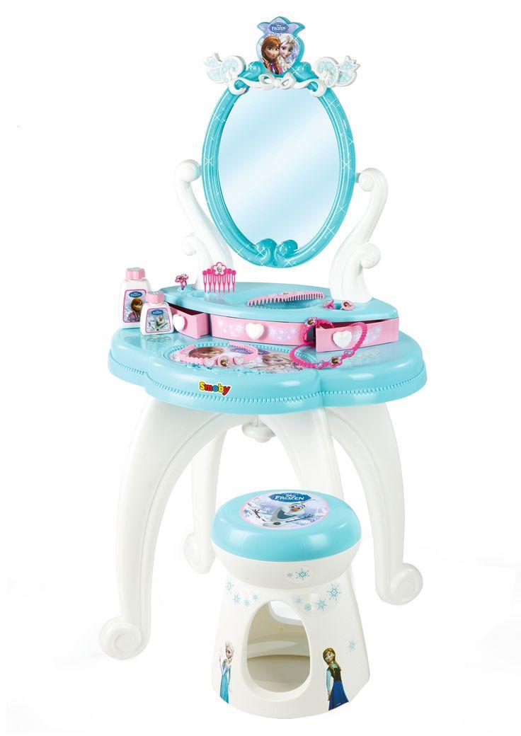 Simba frozen hair dresser with stool  #frozen #disney #simbatoys #happy #kids #toys