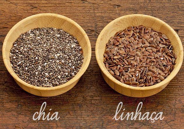 Farmácia Cedroni | 7 diferenças entre a chia e a linhaça