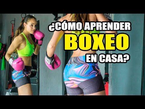 APRENDER BOXEO EN CASA || Ejercicios Básicos BOXEO para Chicas y Chicos - YouTube