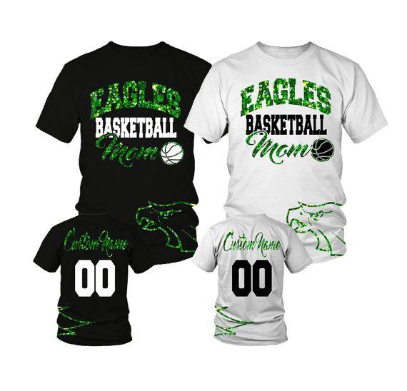 Custom Basketball Mom Shirt w/ Any Team and by FreshPressedTees