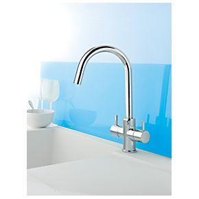 Swirl Pull Out Kitchen Mixer Taps