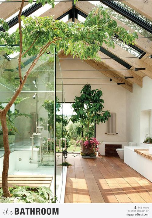 amazing bathroom architecture (via MSR) - my ideal home...