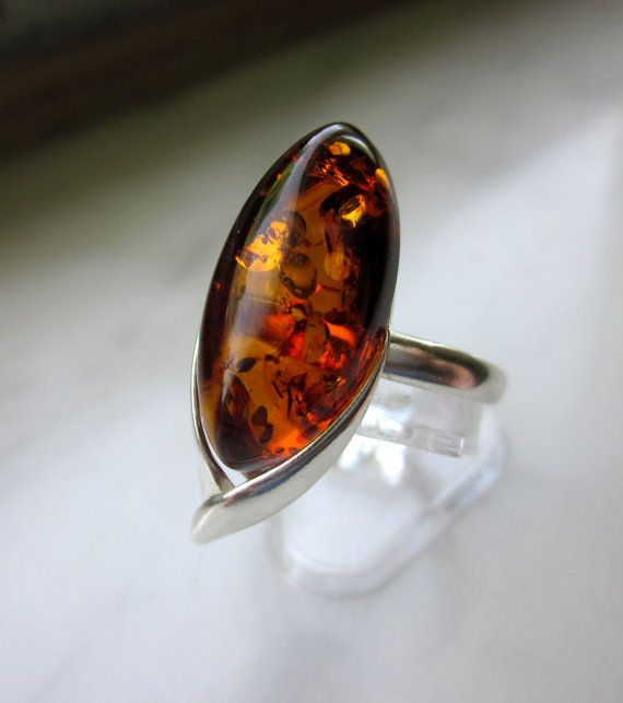 CLEARANCE sterling genuine Baltic amber by artsandadornments