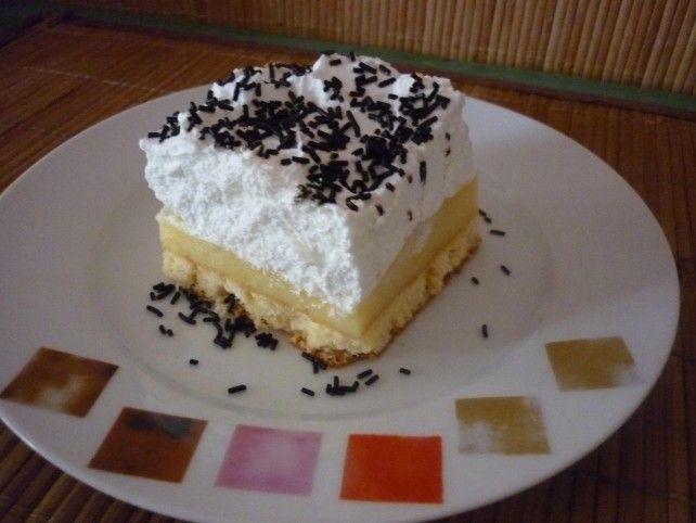 Egy finom Krémes-édes madártej szelet ebédre vagy vacsorára? Krémes-édes madártej szelet Receptek a Mindmegette.hu Recept gyűjteményében!