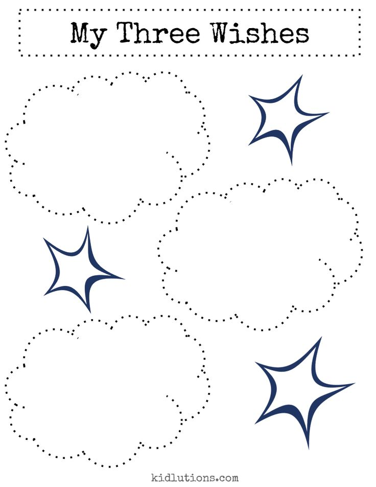"""My 3 Wishes FREE Printable"" (February 2015) from kidlutions.blogspot.com"