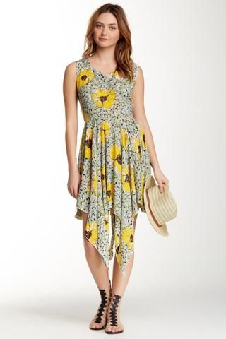 d7226c5e273 platinum-finds ~ Products ~ Angie Bustled Back Sundress L Yellow ~ Shopify