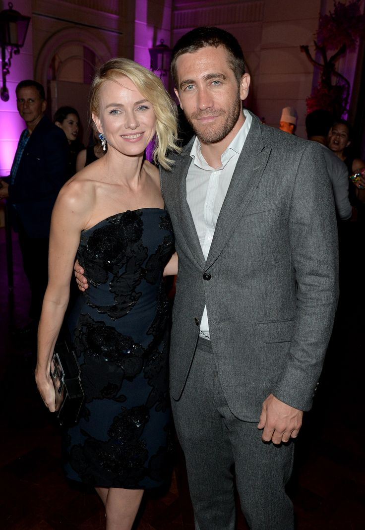 Naomi Watts and Jake Gyllenhaal attend HFPA & InStyle's 2014 TIFF Celebration. (Photo: Getty Images)