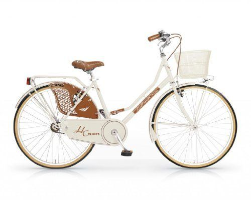 MBM HOLLAND CROW LUX WOMAN 26'' BICYCLE BIKE OLDSTYLE BICICLETA MUJER MARFIL