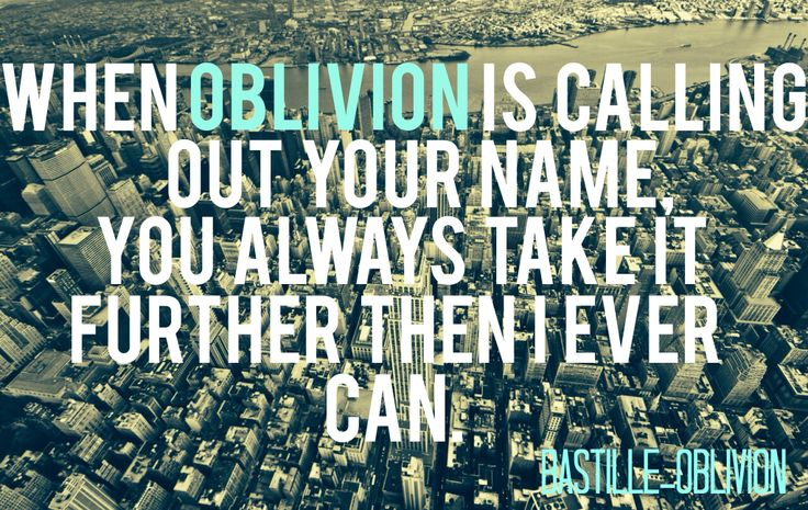 bastille oblivion lyrics deutsch