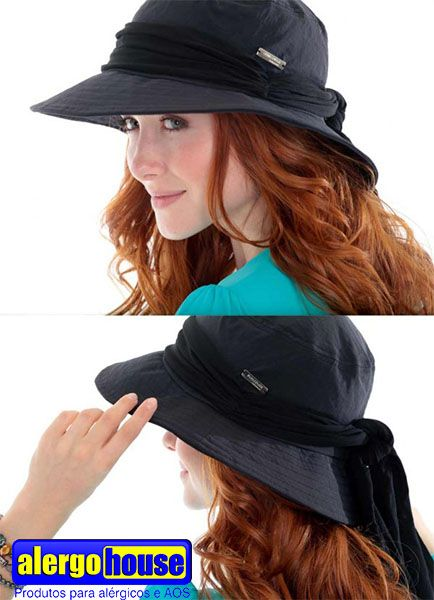 CHAPÉU EGITO UV SUN COVER Com uma faixa no mesmo tom do chapéu drapeada em  visco lycra 3df88f78733