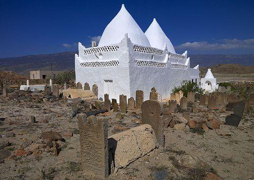 Bin Ali Tomb, near Salalah, Oman