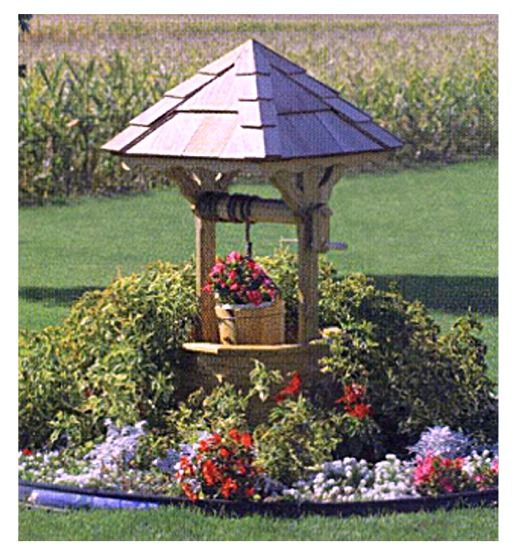Yard Covering Ideas: Best 25+ Wishing Well Ideas On Pinterest