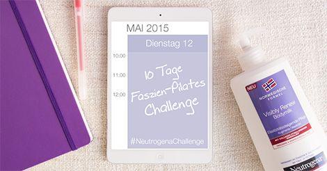 Mache deinen Körper und deine Haut elastisch und geschmeidig – nimm die #NeutrogenaChallenge an! Werde jetzt Fan von der Facebook-Seite von Neutrogena Deutschland und starte ab 12. Mai die 10-Tage-Faszien-Pilates-Challenge. #NeutrogenaChallenge #NeutrogenaDeutschland #Neutrogena #Pilates #FaszienPilates
