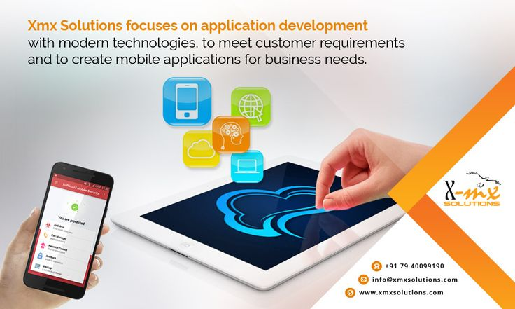 Xmx Solutions focuses on #application #development with modern #technologies, to meet #customer requirements and to create #mobile #applications for business needs. http://www.xmxsolutions.com/mobile-application/ #mobileappdevelopment #mobileapps #mobileapplication