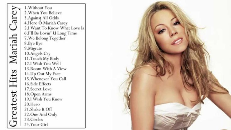 Mariah Carey The Best Of -  Mariah Carey's  Greatest Hits - Full CD