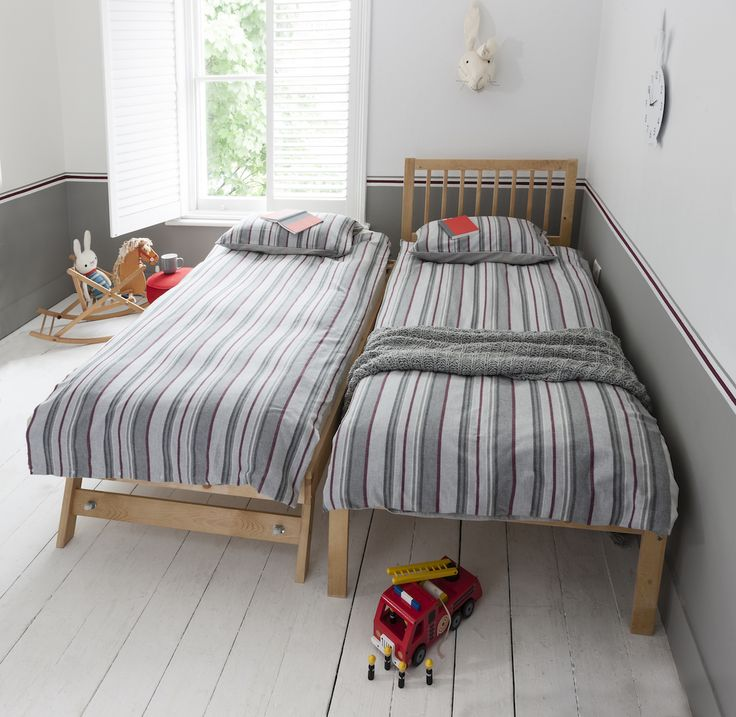 With Its Shaker Style Aesthetic And Slim Design The Single Bed Is Both Chic
