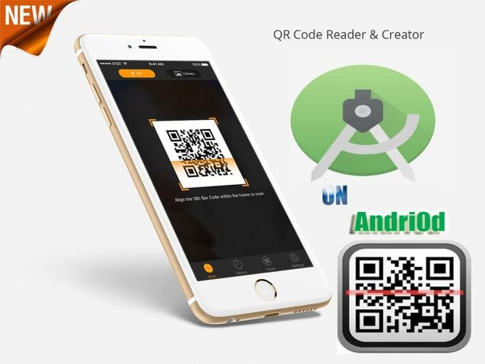 Kamiworks I Will Create Qr Code Scanner In Android App For 40 On Fiverr Com Application Android Qr Code Scanner Android Apps