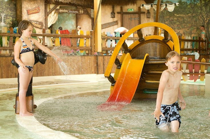 Ons zwembad is ook geschikt voor kleine kinderen!