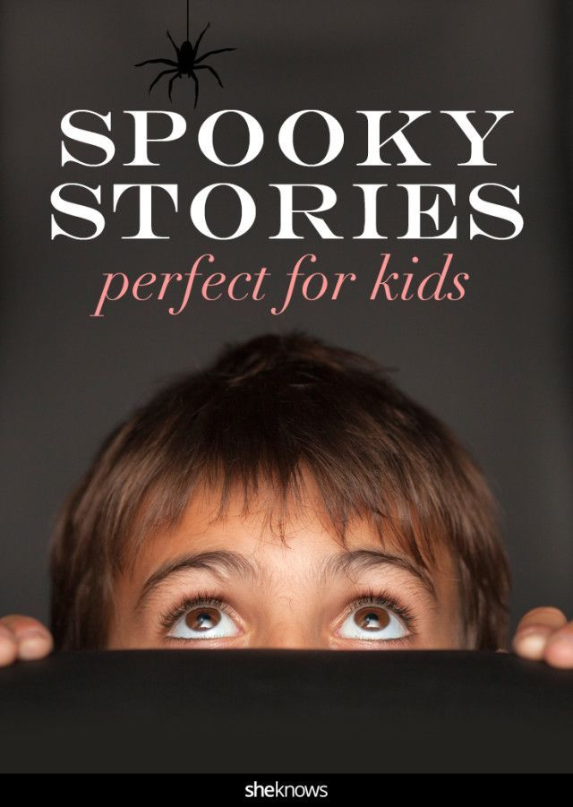 For any time of year, we've found more than a dozen kid-appropriate spooky stories that your little ghouls and boys are bound to love. #Camping #Stories