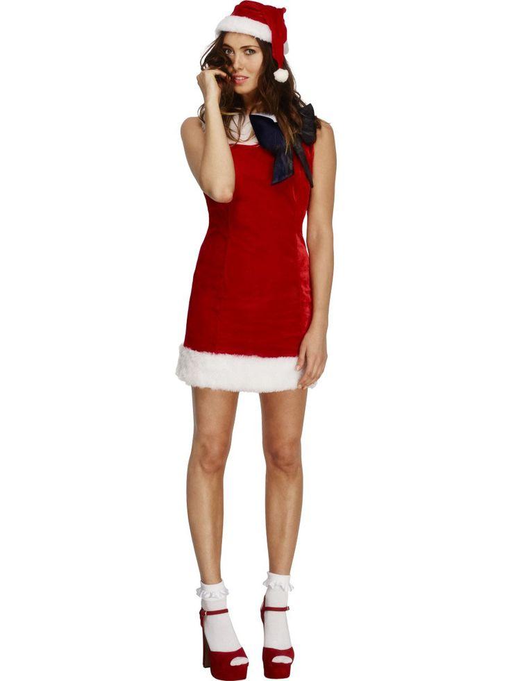 Sexy Weihnachtsfrau Kostüm für Damen