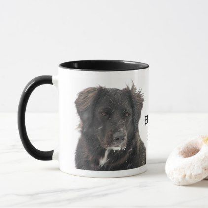 Create Your Own Pet Photo Name Year Mug - home gifts ideas decor special unique custom individual customized individualized