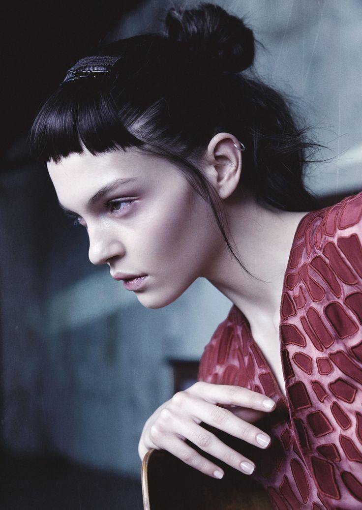 Kate Bogucharskaia by Benjamin Vnuk for Lurve Magazine, Spring/Summer 2014