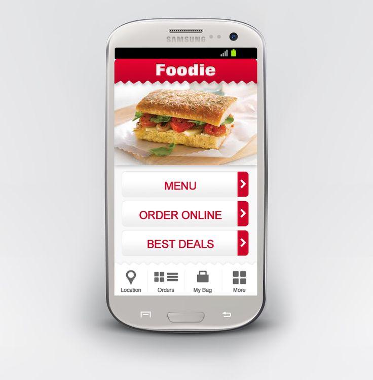 Mobile design for a resturant