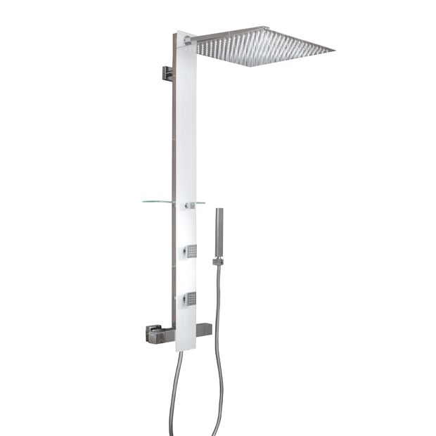 Colonne de douche hydromassante tower lapeyre home decor decor lighting - Lapeyre paroi de douche ...