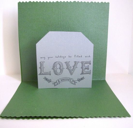 Adorable cards to make!