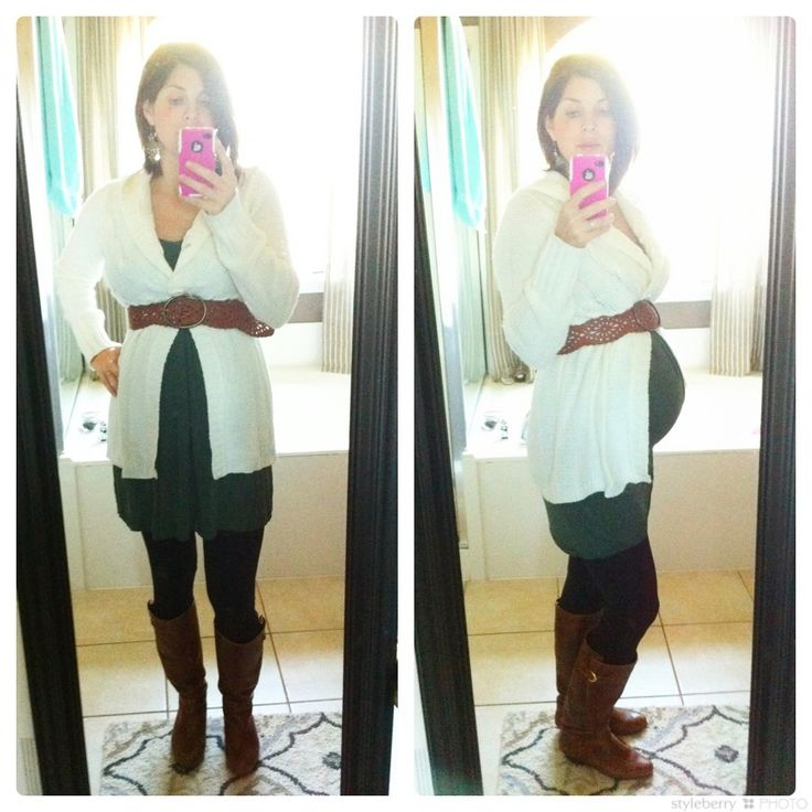 Great tips on dressing a baby bump without having to buy too many maternity clothes...I like her style :)