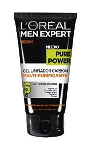Men Expert Gel Exfoliante Limpiador de Carbón Pure Power