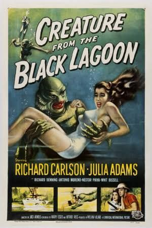 creature from the black lagoon, a great creature feature. Check out my top 50 creature features of all time here: http://www.alphareboot.com/50-of-the-best-creature-features-of-all-time/