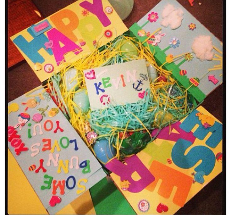 Easter Care Package #milso #carepackage #militarycarepackage