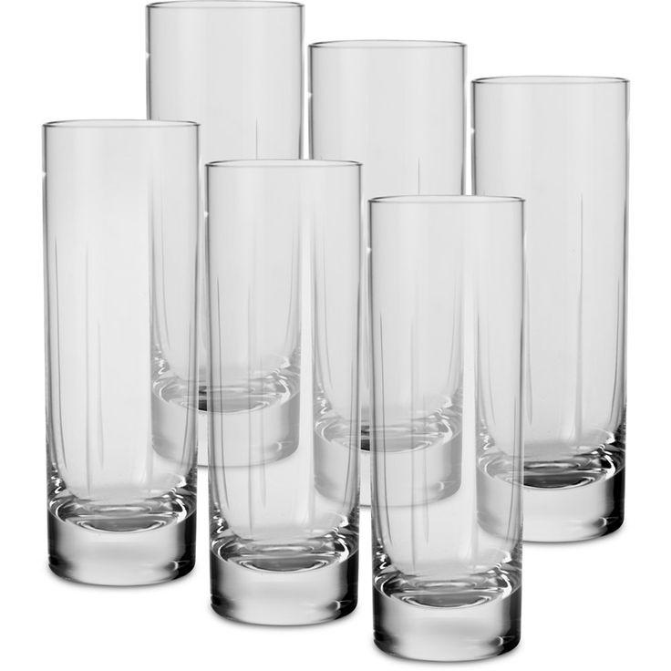 Copo Vodka 200 Lapidação Leila - 6 Peças - Cristal Blumenau - Submarino.com.br