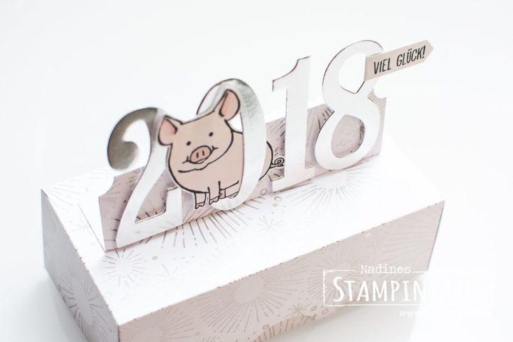 Silvesterknaller – Glücksschweinchen