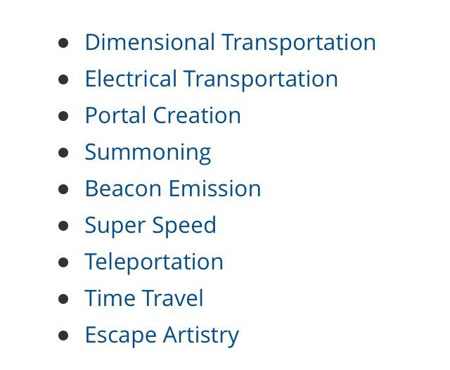 http://powerlisting.wikia.com/wiki/List_of_Supernatural_Powers_and_Abilities