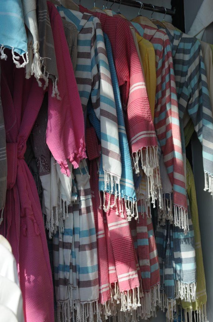 Cotton peshtemal robes