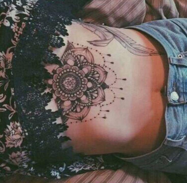 Best 25 Mandala Sternum Tattoo Ideas On Pinterest: Best 25+ Underboob Tattoo Ideas On Pinterest