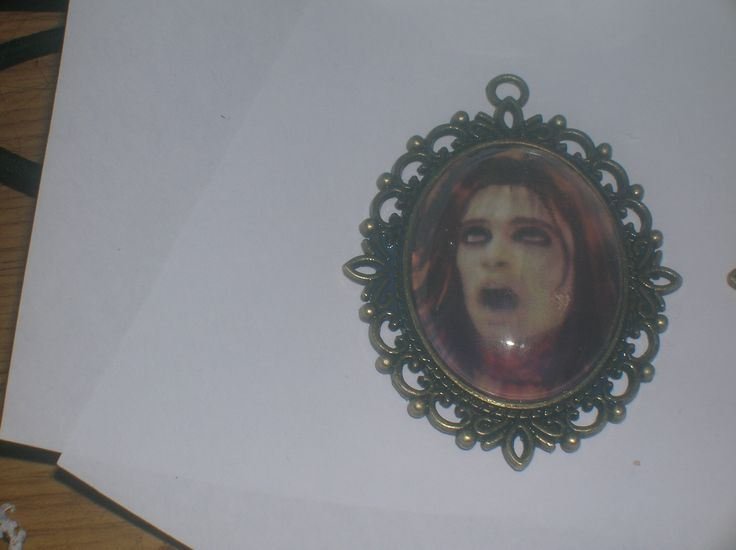 necklace created from the cover