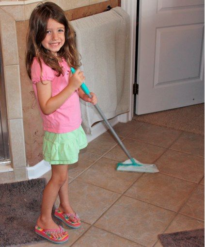 kids and chores - help your kids clean with Method cleaners.