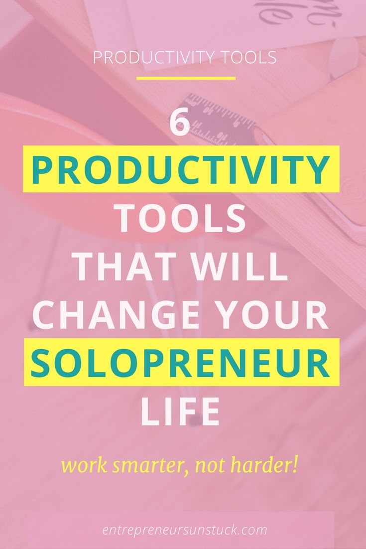 "Facing the ""never enough time to get things done"" rat race? No worries, most bloggers and solopreneurs are into that game. The following productivity tools are of big help to get over it!"