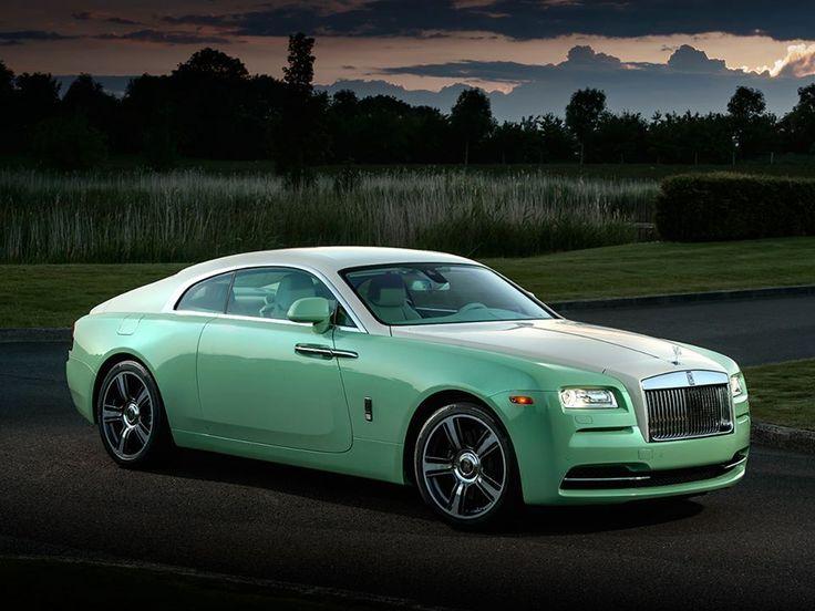 Rolls-Royce Creó Este Maravilloso Y Extraño Jade Pearl Wraith Color Menta A Petición Del Coleccionista de Autos Michael Fux
