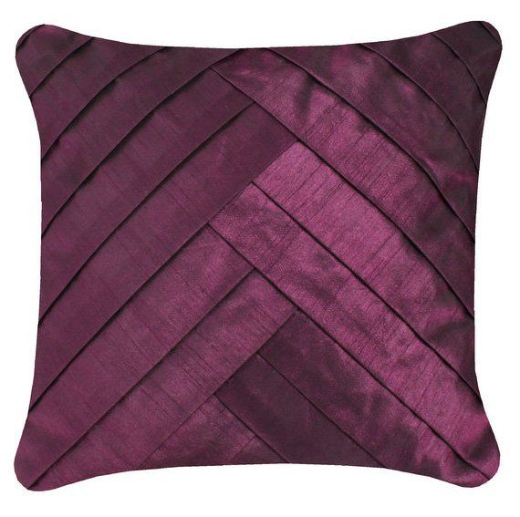 Purple Filled Cushion - pattern - Click to enlarge