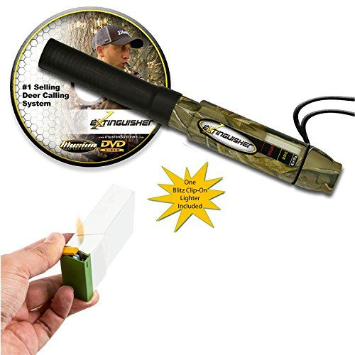 Extinguisher Deer Call Camo (Realtree) with DVD Instructional + Blitz Clip-On Lighter   https://huntinggearsuperstore.com/product/extinguisher-deer-call-camo-realtree-with-dvd-instructional-blitz-clip-on-lighter/