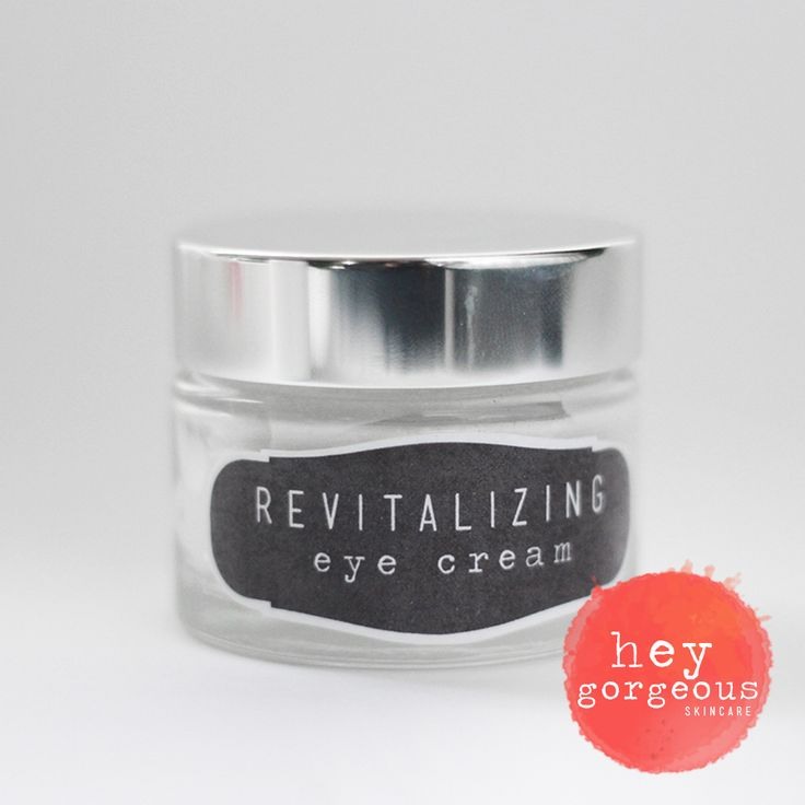 Say goodbye to puffiness and panda eyes with our gorgeous Revitalising Eye Cream